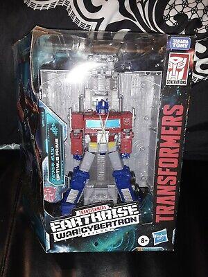 Transformers Earthrise Optimus Prime + Siege Refraktor lot  USA SELLER