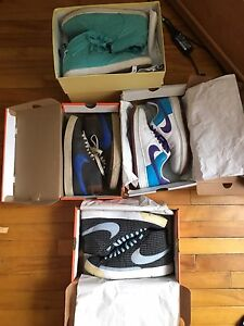 Nike Blazers, Air Force 1 and Gourmets