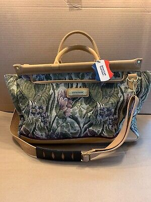 American Tourister Tapestry Carry On Carpet Bag NOS American Tourister Carry On
