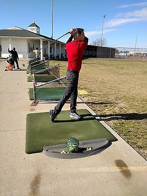"Golf Hitting Driving Range Mats 60"" x 60"""
