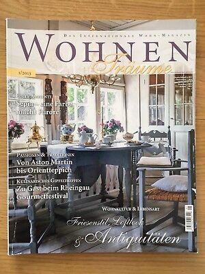 Wohnen - Das internationale Wohn-Magazin - Ausgabe 1/2013 - gebraucht!
