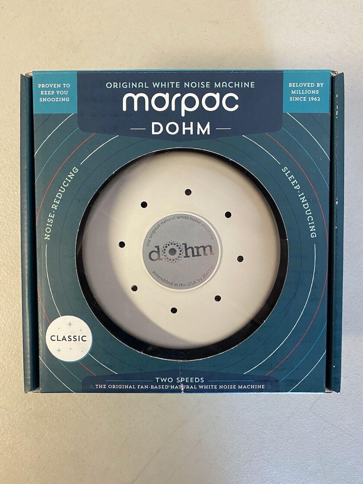 dohm classic white noise machine white