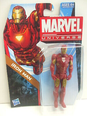 Marvel Universe Iron Man - 4 Inch Action Figure by Hasbro 2011 - MOC
