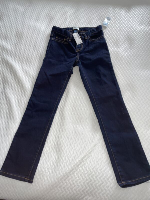 Girls Childrens Place Dark Blue Jeans New Size 8