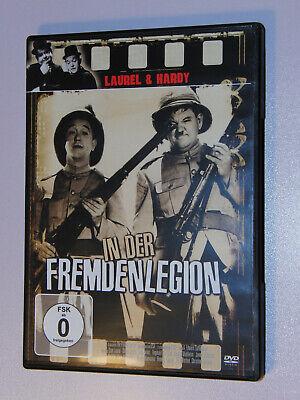 DVD Laurel & Hardy In der Fremdenlegion Komödie Kultfilm Klassiker Humor schwarz