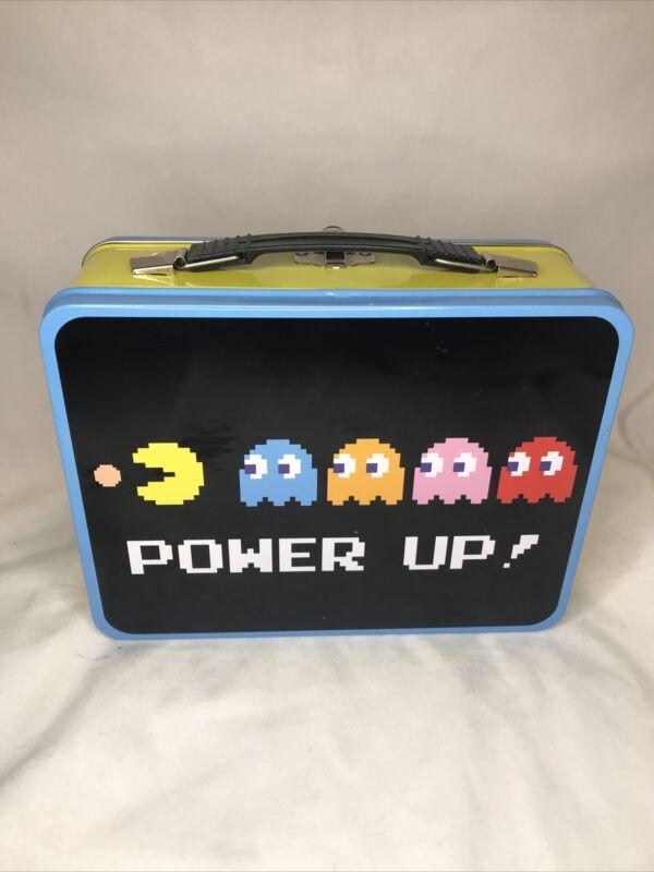 Pac-Man Power Up Tin Lunch Box Bandai Namco Entertainment Video Game
