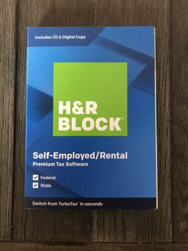 H&R Block 2019 Premium Self Employed-Rental - Sealed New