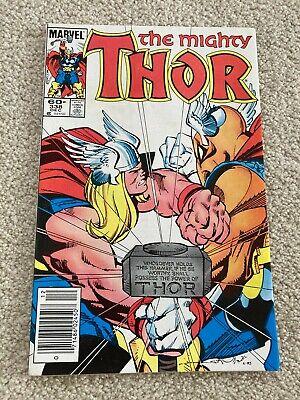 Thor 338 2nd app Beta ray bill NFine+/VF