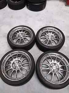 Work XSA 17x7 +35 & +26 4x100 Good Tyres Welshpool Canning Area Preview