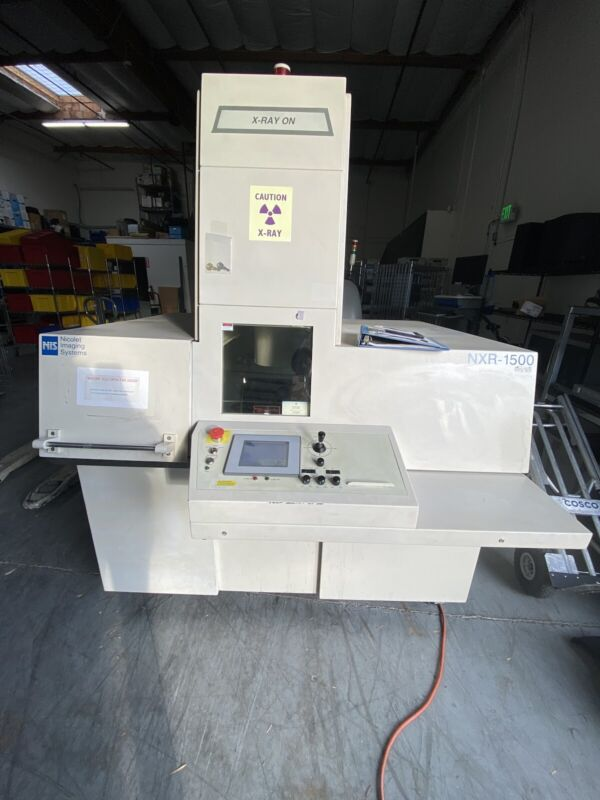 Nicolet NXR-1500 X-Ray Inspection - AS IS - Incomplete