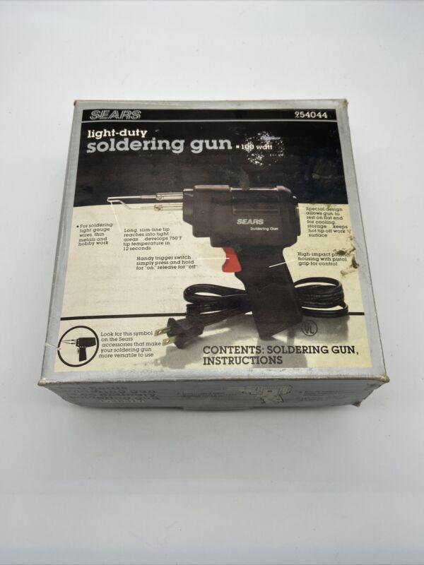 Vintage Sears 100 Watt Light-Duty Soldering Gun 954044 Tool