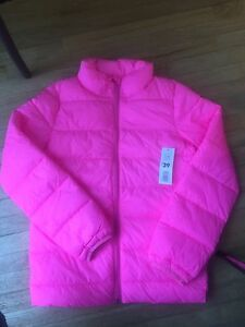 Kids Joe Fresh Neon Pink coat
