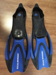 US Diver Flippers - Large Size (9.5-11.5)