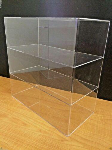 "305Displays 16 x 8"" x 16""h WITHOUT DOOR Acrylic Countertop Display Case Showcase"