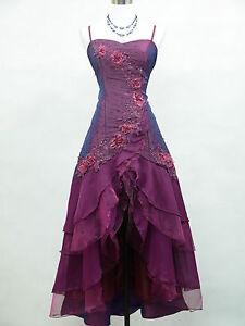 Cherlone-Satin-Dark-Purple-Prom-Lace-Bridesmaids-Ball-Wedding-Evening-Gown-Dress