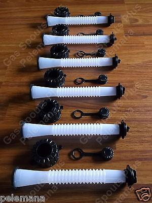 6-pack Gas Can Spouts Parts Kits Blitz Rubbermaid Essence Gott Koplin Rotopax