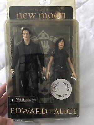 The Twilight Saga: New Moon - Alice Figure and Edward Figur - Brand New + Sealed