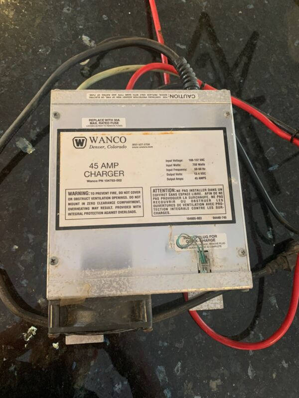 Wanco Message Board Charger WTMMB