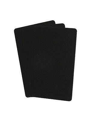 Zebra Plastikkarte Drucker (50 Plastikkarten schwarz PVC Zebra Kartendrucker CR80 Plastikkartendrucker Card)