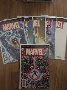 Marvel The End 1-6 Set