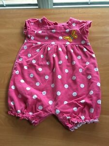 12 mos rompers/dresses x 4