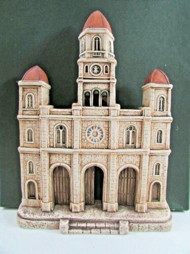 GUILLON Vintage Ceramic Plaque Colleccion CUBA  Santuario De El Cobre Hand Made