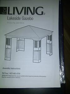 Lakeside Gazebo 10 X 10 --New in box