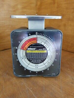 Pelouze Postage Scale Model K5 5 Pound Capacity Usps Rates January 1999
