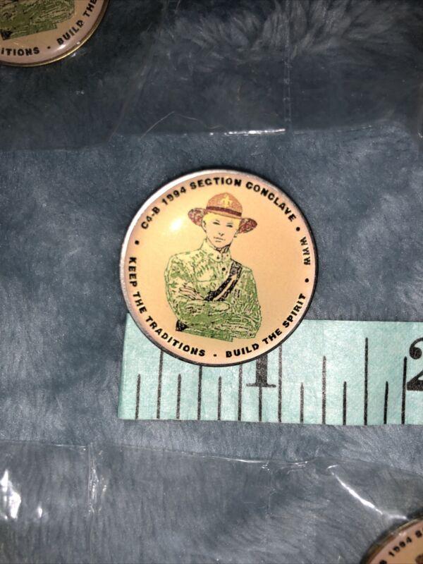 Official BSA OA section C4B 1994 pin