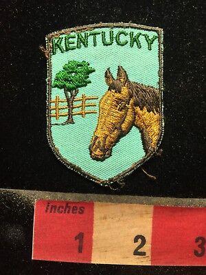 GREEN LETTER VERSION Kentucky Racehorse Horse Patch 69NN