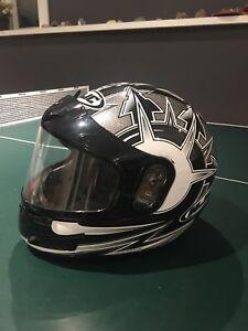 Snowmobile helmets