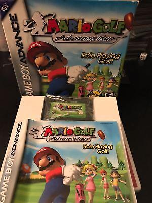 Usato, Nintendo GAMEBOY ADVANCE GIOCO- MARIO GOLF ADVANCE TOUR usato  Roma