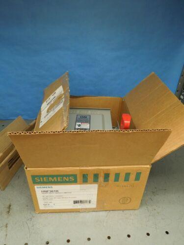 Siemens Hnf361r Heavy Duty Safety Switch Non-fused 30a 600v Nema Type 3r New