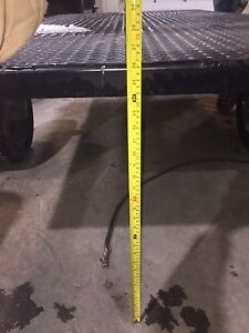High Clearance 4x8 utility trailer