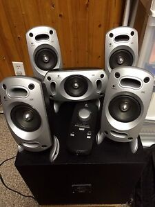 Logitech 5.1 Channel Speakers with Subwoofer