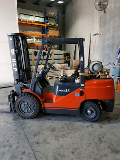 Used HCF lpg/ gas forklift 3.5ton  only 290hrs  2years old