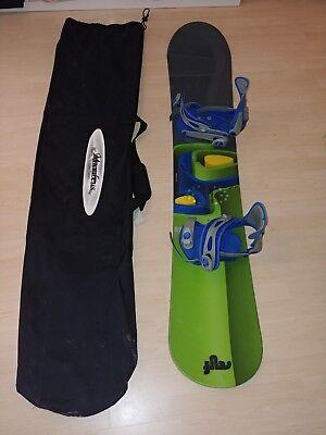 Burton Snowboard inkl. Salomon S3 Bindung Wide Board Wideboard