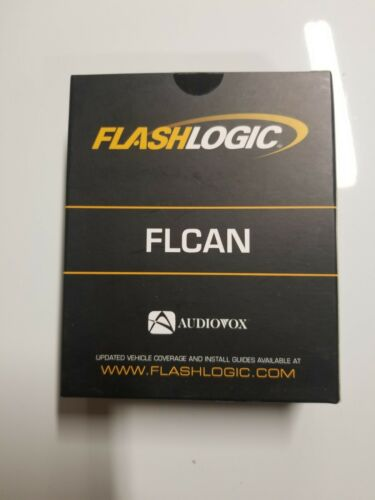 FlashLogic FLCAN Alarm Bypass Remote Start Door Lock Module Canbus Interface NEW
