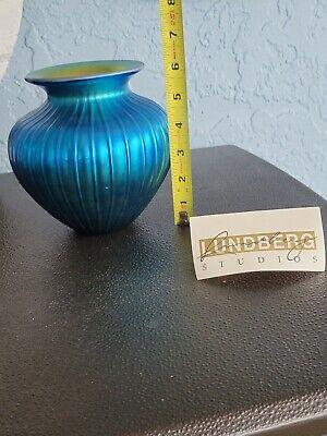 Vases Vintage Cobalt Blue Vatican