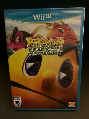 Pac-Man and the Ghostly Adventures Nintendo Wii U New Sealed