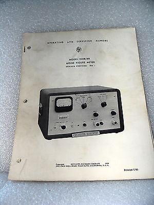Agilent Hp 340b 340br Noise Figure Meter Operating Service Manual