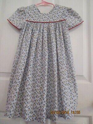 toddler girls Pique (New Orleans) size 3T scotty dog dress