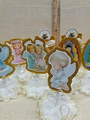 ANGELS-BAPTISM-COMMUNION- party favor Decorations 12 pcs