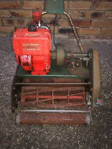 ROVER SCOTT BONNAR 4 STROKE CYLINDER LAWN MOWER!NO CATCHER. Runcorn Brisbane South West Preview