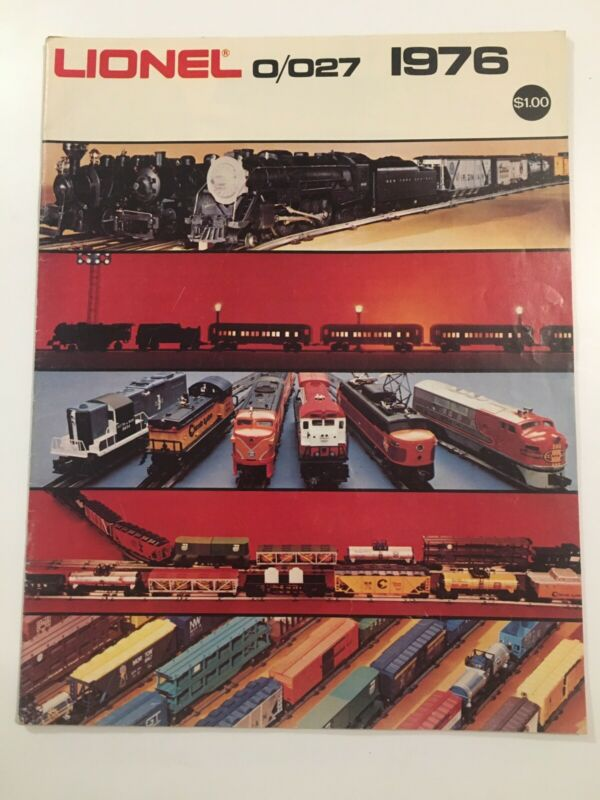 LIONEL TRAINS- 1976 MPC 0/027 SCALE CATALOG- Pre Owned