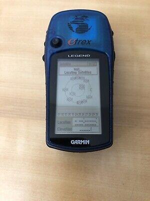 """Garmin eTrex Legend Handheld """"Working""""Used"""