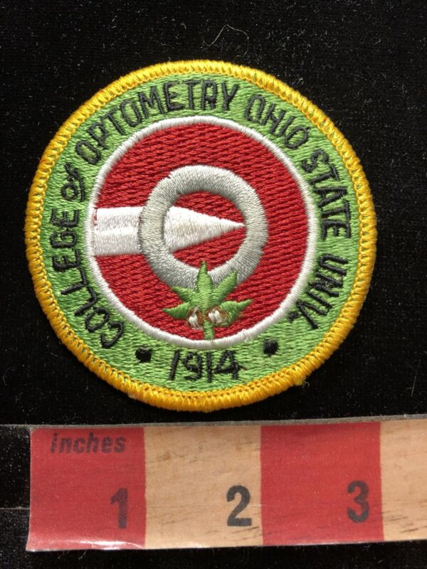 Ohio State University College Of Optometry Patch 84YY