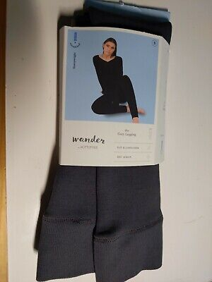 Wander by Hottotties Women's Velvet Lined Leggings Small opened package New $15
