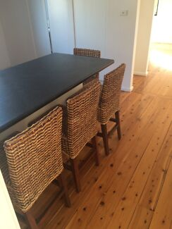 Breakfast Bar Stools x 4 Balgownie Wollongong Area Preview