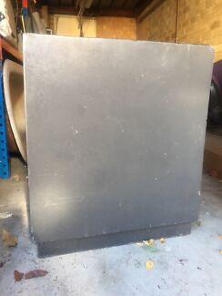 2 x Large Concrete Planters BARGAIN